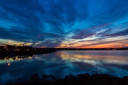 Sunset, Back Cove