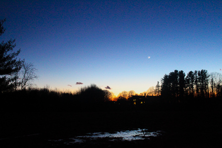 Sunset/Moonrise