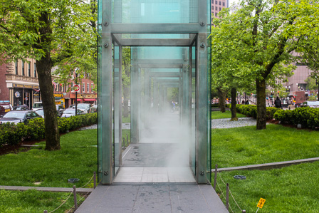 The New England Holocaust Memorial