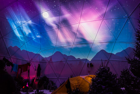 Night Sky Dome
